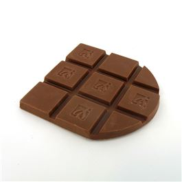 tablette de chocolat au lait savoureuse. Black Bedroom Furniture Sets. Home Design Ideas
